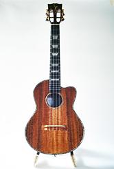 cut-away koa tenor KT-02CW