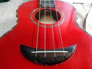 ウクレレ弦高調整修理