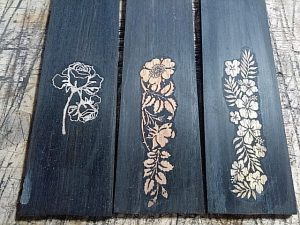 指板木工象嵌インレイ