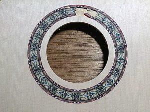 ウクレレロゼッタ+木製パフリング