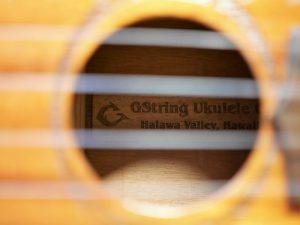 Gストリングのラベル