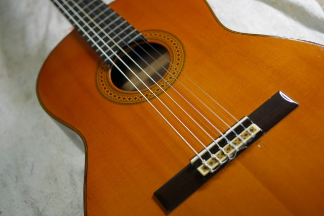 クラシックギター・オーバーホール修理
